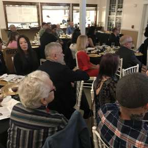 2018 Pencraft Award Dinner and Ceremony The Audience is enthralled with the interesting personal stories that each winner is sharing.�