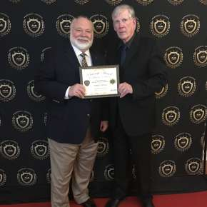 "2018 Pencraft Award Dinner and Ceremony Robert Shemeld Award Winning Author of ""The Narragansett Files"" with David Hearne (AuthorsReading.com)"