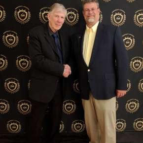 2018 Pencraft Award Dinner and Ceremony Partners David Hearne and Mark Wulf of AuthorsReading.com